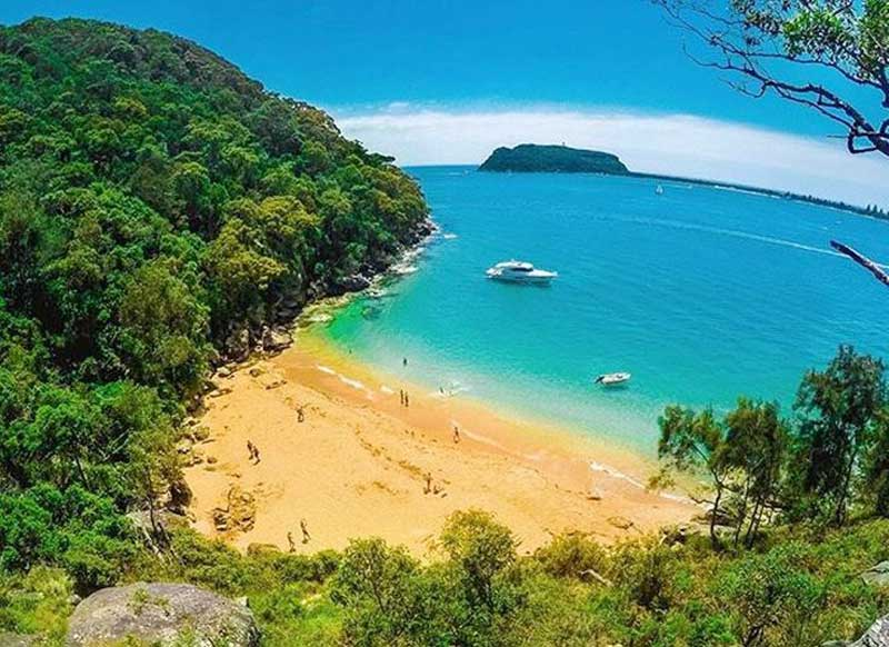West Head Resolute Beach Ku-ring-gai Chase National Park advise