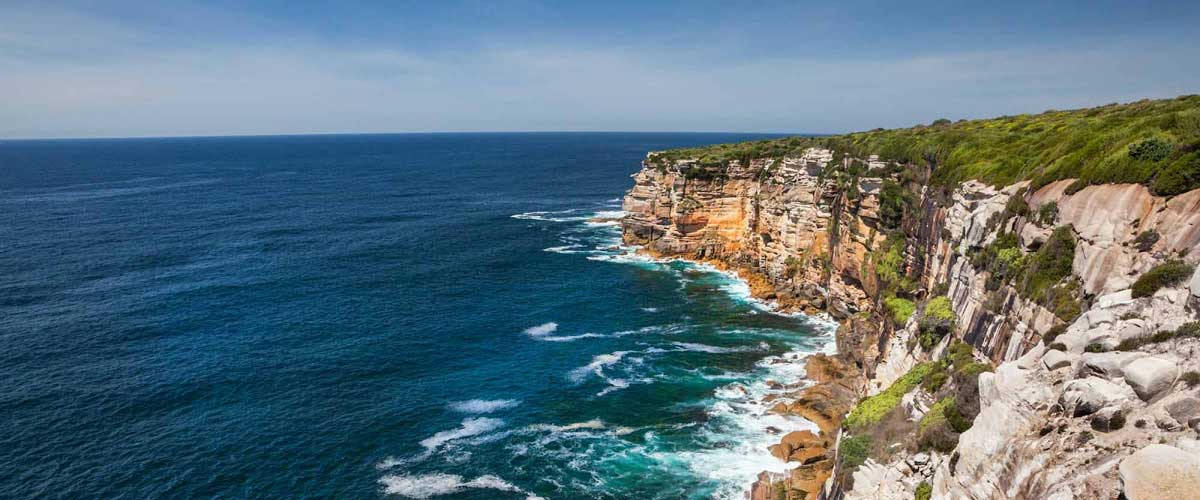 Coastal Features: Botany Bay to Stanwell Tops
