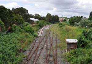 Lost Railways Rozelle Darling Harbour Goods Line